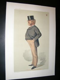 Vanity Fair Print 1875 Massey Lopes, Caricature